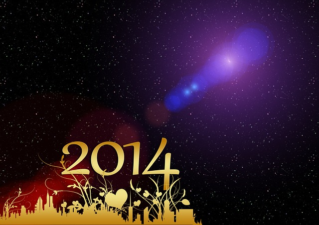 Bonne année 2014 Happy new Year!